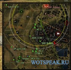 Умная миникарта для World of tanks 0.9.17.1 на основе комплексного мода XVM