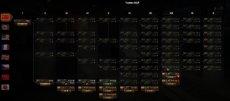 Компактное горизонтальное дерево исследований для World of Tanks 1.9.0.3 WOT