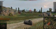 Автоматический фокус цели при наведении - сообщение в чат + маркер над врагом для World of tanks 1.0.2.1 WOT