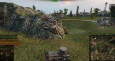 Автоматический фокус цели при наведении - сообщение в чат + маркер над врагом для World of tanks 1.0.2.4 WOT