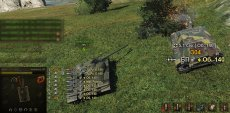 Панель повреждений от Maks5187 для World of tanks 1.11.1.0 WOT