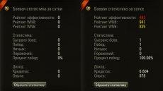 Статистика за сессию для World of tanks 1.5.1.1 WOT (8 вариантов)