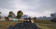 Улучшенные отличительные отметки на стволе танка для World of tanks 1.6.1.3 WOT