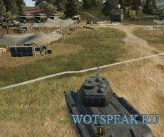 """Мод """"Круг разброса орудия"""" (DispersionCircle)  для World of tanks 1.0.2.1 WOT"""