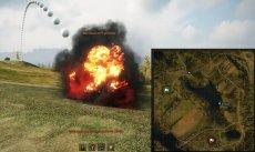 Красные шары на месте выстрела артиллерии - читерский мод для арты World of tanks 1.1.0.1 WOT