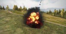 Красные шары на месте выстрела артиллерии - читерский мод для арты World of tanks 1.3.0.1 WOT