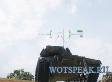 Аркадный и снайперский прицел Taipan-2 для World of tanks 0.9.21.0.3 WOT