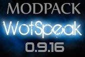 Сборка модов Wotspeak - модпак Вотспик для World of tanks 0.9.16 WOT