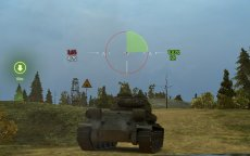 Простой и минималистичный прицел Протанки для World of tanks 0.9.20.1.3 WOT