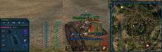 Синяя панель повреждений для World of tanks 1.12.0.0 WOT