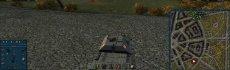 Синяя панель повреждений для World of tanks 1.3.0.0 WOT
