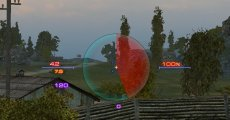 Красно-синий прицел от Badboy78 для World of tanks 1.11.0.0 WOT