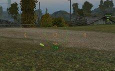 Набор прицелов Octagon (аркадный, артиллерия, снайперский) для World of tanks 0.9.22.0.1 WOT