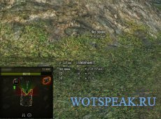 Дамаг панель с углами поворота орудия (УГН) для World of tanks 1.4.1.0 WOT (2 варианта)
