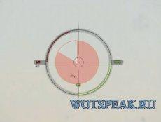 Удобный светло-зеленый прицел CircleCross для World of tanks 0.9.17.0.3 WOT (2 версии - ENG + RUS)