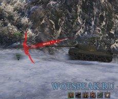 Дамаг индикатор направления атаки Хищник для World of tanks 1.2.0.1 WOT