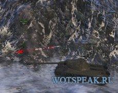 Точное отображение направления урона - индикатор для World of tanks 1.9.1.1 WOT