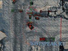 """Артиллерийский, снайперский и аркадный прицел """"Дамоклов меч"""" 1.4.0.2 World of Tanks"""