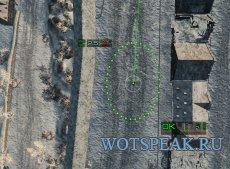 """Артиллерийский, снайперский и аркадный прицел """"Дамоклов меч"""" 1.4.0.1 World of Tanks"""
