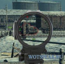 Реалистичный прицел (Снайпер 2) для World of tanks 0.9.20.1.4