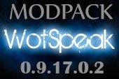 Сборка модов Wotspeak - модпак Вотспик для World of tanks 0.9.17.0.2 WOT