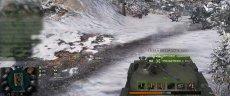 Новая  панель повреждений Dark для World of tanks 1.0.1.1 WOT