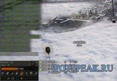 Минималистичная дамаг панель Mini для World of tanks 0.9.21.0.3 WOT