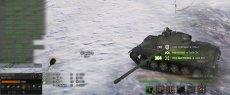 Минималистичная дамаг панель Mini для World of tanks 1.6.1.4 WOT