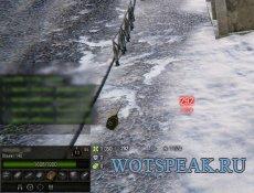 Минималистичная дамаг панель Mini для World of tanks 1.1.0.1 WOT