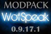 Сборка модов Wotspeak - модпак Вотспик для World of tanks 0.9.17.1 WOT