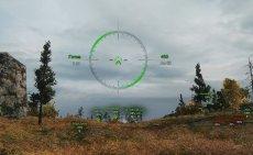Аркадный и снайперский вариант прицела Kodos для World of tanks 1.6.0.0 WOT
