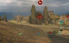 Минималистичный прозрачный прицел Cyborg для World of tanks 1.1.0.1 WOT