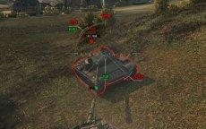 Модифицированный стандартный прицел kellerman3746 для World of tanks 1.7.1.2 WOT