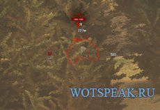 Белый прицел в стиле минимализма для World of tanks 1.10.0.1 WOT