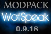 Сборка модов Wotspeak - модпак Вотспик для World of tanks 0.9.18.0 WOT