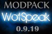 Сборка модов Wotspeak - модпак Вотспик для World of tanks 0.9.19.0.2 WOT