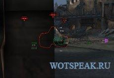 Прицел с отображением пробития для World of tanks 1.2.0.1 WOT