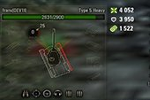 Полностью прозрачная панель полученного урона для WOT 0.9.21.0.3 World of tanks