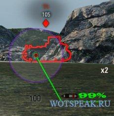 Aimpack - сборка сведений и прицелов для World of tanks 1.7.1.2 WOT.