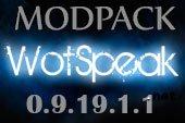 Сборка модов Wotspeak - модпак Вотспик для World of tanks 0.9.19.1.1 WOT