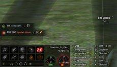 Панель повреждений Techno для World of tanks 1.7.0.2 WOT