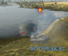 Индикатор направления выстрела Harpoon для World of tanks 0.9.21.0.3 WOT