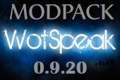 Сборка модов Wotspeak - модпак Вотспик для World of tanks 0.9.20 WOT