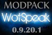 Сборка модов Wotspeak - модпак Вотспик для World of tanks 0.9.20.1.3 WOT