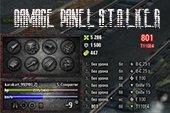 Панель повреждений S.T.A.L.K.E.R для World of Tanks 0.9.22.0.1