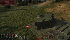 Минималистичная панель повреждений Andre_V для WOT 1.8.0.2 World of tanks