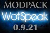 Сборка модов Wotspeak - модпак Вотспик для World of tanks 0.9.21.0.1 WOT