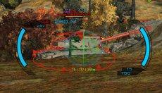 Яркий прицел от Andre_V для World of tanks 1.5.1.2 WOT (RUS+ENG версии)