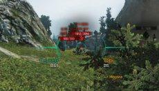 Бирюзовый прицел ZX2 для World of Tanks 1.9.1.1 WOT