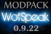Сборка модов Wotspeak - модпак Вотспик для World of tanks 0.9.22.0.1 WOT